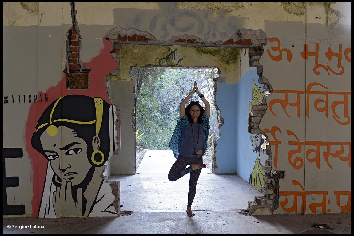 Sergine Laloux Photographe - Ashram des Beatles - Rishikesh - North India